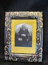 Uncle Bob Halloween Haunted Scary Lenticular 3D Picture w/ Frame ~ Free Shipping