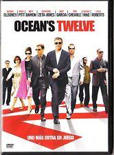 OCEAN'S TWELVE de Steven Soderbergh (dvd)