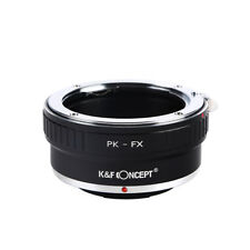 PK-FX Adapter Ring for Pentax K PK Lens to Fujifilm Fuji FX X Mount X-Pro1 X-E1