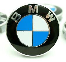 4 x 68 mm Felgendeckel für Bmw Blau Nabendeckel Nabenkappen F11 E60 X3 X5