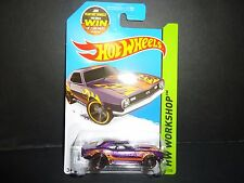 HOT WHEELS Copo Camaro SS 1968 Violet 211/250 1/64 985f