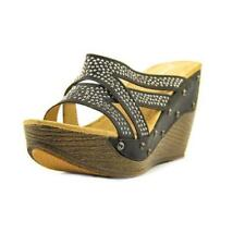 Sandalias y chanclas de mujer de tacón alto (más que 7,5 cm) de color principal negro talla 37