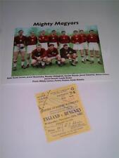 England v Hungary 1953 Ferenc Puskas Gyula Grosics Jozsef Buzanszky
