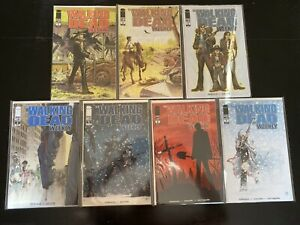 The Walking Dead Weekly 1, 2, 3, 4, 5, 6, 7 Run Lot NM Image Great Books!
