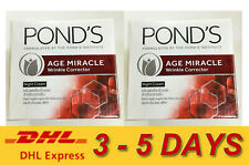 2 x PONDS AGE MIRACLE DEEP ACTION NIGHT CREAM INTELLIGENT PRO-CELL COMPLEX 50ml.