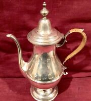 Antique Teapot Sterling Silver 925 Sterling And Welch Co 510gm Unweighted