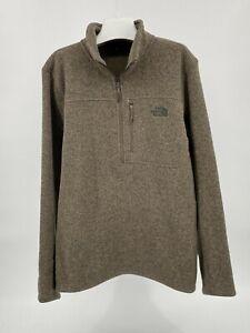 THE NORTH FACE- XL Gordon Lyons 1/4 Zip Fleece Pullover Jacket