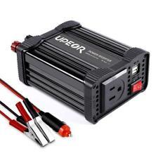 Car Power Inverter Converter 200W 12V DC to 110V AC Modified Sine Wave Inverter