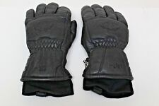 Reusche Black Ski Gloves Size 7.5