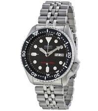 Relojes de pulsera Scuba de acero inoxidable de día y fecha