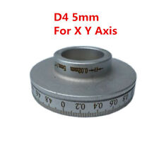 1x Bridgport Milling Machine D4 5mm Dial For Xy Axis Verticcal Turret Mill Tool