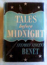 Tales Before Midnight, Stephen V. Benet, Farrar & Rinehart (1939) 1st edition VG