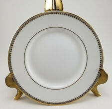 """Wedgwood Vera Wang Vera Lace Gold Bread and Butter Plate - 6"""""""
