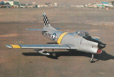 1/7 Scale F-86 Sabre Sport Plane Plans, Templates and instructions 67ws (Prop)