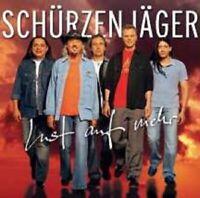 """SCHÜRZENJÄGER """"LUST AUF MEHR"""" CD NEUWARE"""