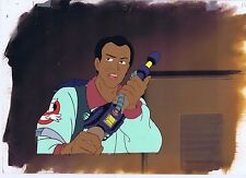 The Real Ghostbusters Original Production Animation Cel & Painted Bkgd #A15444