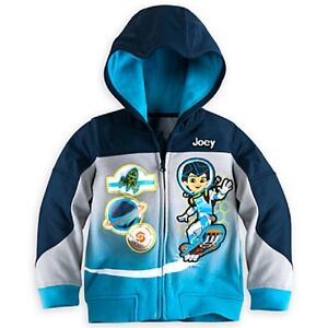 DISNEY STORE MILES FROM TOMORROWLAND HOODED JACKET FOR BOYS NWT ~ VERY NICE!