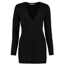 **SALE** Kustom Kit- Ladies Beautiful V Neck Long Line Cardigan- RRP £24.99