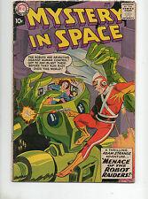 Mystery In Space #53 1St Adam Strange 1959! Vg 4.0 Robot Cover! Rare 1! Key 2