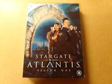 5-DISC DVD BOX / STARGATE ATLANTIS - SEASON 1