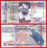 SEYCHELLES ISLAS 25 Rupees rupias 1998 (2005) Pick 37b SC / UNC