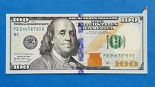 $100 US Dollars ERROR Butterfly Note 2017A Uncirculated!!!