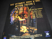 Ozzy Osbourne Here's The Action. 1999 Promo Display Ad mint condition