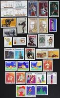 CANADA Postage Stamps, 1975 Complete Year Set collection, Mint NH, See scans