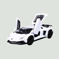 1:32 Lamborghini Aventador LP750-4 SV Car Model Toy Vehicle Metal Diecast White