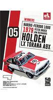 """HOLDEN LX TORANA A9X POSTER - BATHURST 1000 WINNER 1979 - 91 x 61 cm 36"""" x 24"""""""