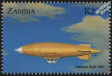 1915 Parseval Luftschiff 25 (PL25) Non-Rigid Patrol Airship Aircraft Stamp