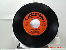BETTY WRIGHT -(45)- CLEAN UP WOMAN / I'LL LOVE YOU FOREVER - ALSTON - 4601- 1971