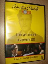 DVD IN UNO SPECCHIO SCURO LA RAGAZZA DEL TRENO AGATHA CHRISTIE HOURS MALAVASI