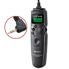 LCD Timer Remote DRS-60E3 Intervalometer Shutter for Canon EOS 550D 500D 450
