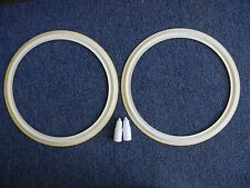 Replacement Foam White Edge for JBL LE-15A 15in pair