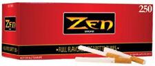 Zen Smoke Full Flavor King Size Cigarette Filter Tubes 1 Box of 250 Tubes - 3129