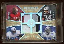 08 ULTIMATE LEGEND QUAD PATCH #D /20 BARRY SANDERS-EMMITT SMITH-BO JACKSON-CRAIG