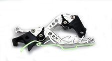 Silver adjustable brake/clutch levers CBR250RR CBR250R MC22 MC19  #LV002#