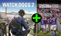 Watch Dogs 2 + Football manager 2020 - Epic Game Full Access | Instant Delivery!