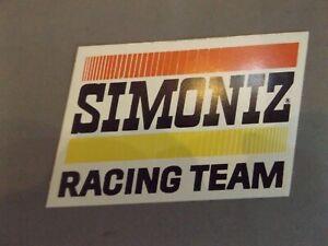 "4"" x 2.5"" STICKER - SIMONIZ RACING TEAM"