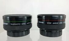 Lot of 2 Zykkor Lenses - WIDE ANGLE & TELEPHOTO LENS - Japan *Fast Shipping! CC