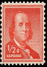 US Postage Stamp PHOTO MAGNET Reproduction Franklin Liberty Series 1954