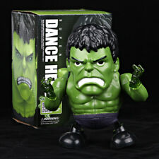 Dance Hero Hulk Avengers Toy Figure Dancing Robot w/Led Flash Lighting & Music