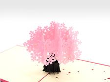 Sakura Blossom 3D Pop Up Mother's Day Card