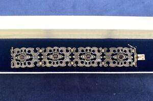 Antik Schmuck Armband-Silber Granat 835 BAS-Blachian-Trachtenschmuck