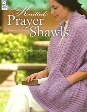 Knitted Prayer Shawls Knitting Instruction Patterns Pocket Woven Lace Cabled NEW