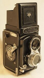MINOLTA Autocord TLR Camera with 1:3.5 f=75mm Chiyoko Rokkor