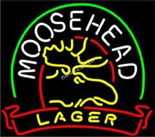 Rare New MOOSEHEAD LAGER MAINE MOOSE BEER BAR NEON LIGHT SIGN Fast Free Shiping