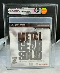 PS3 Playstation 3 Metal Gear Solid The Legacy Collection Brand New VGA 85+ Gold