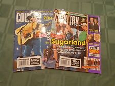 Lot of 2 Country Weekly Magazines George Straight & Sugarland Jan 07 & Nov 06